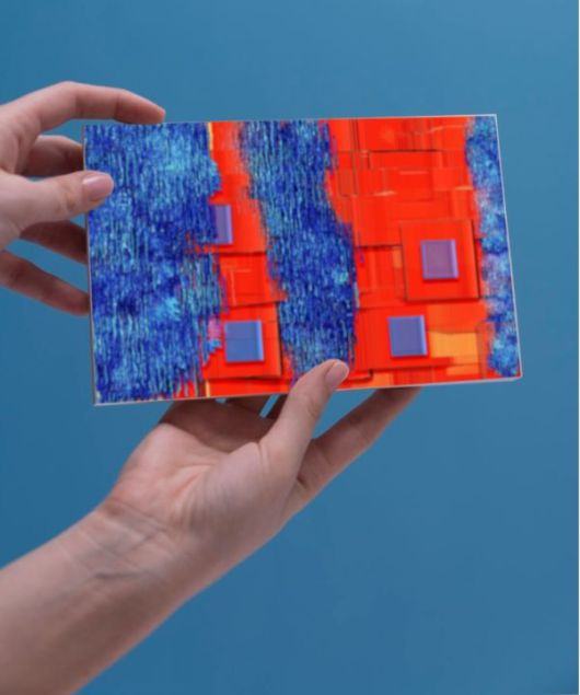 1create - greeting card wet architecture by sue caulfield