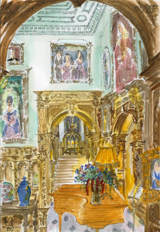 67 B A Grand Staircase Patricia Thompson Exhibition