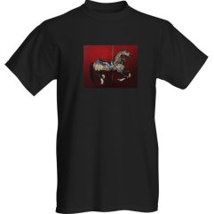 1create - t-shirt-mens-Blackness-of-the-clepsydra-black