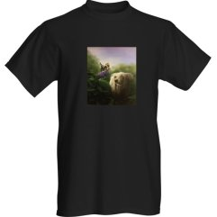 1create - t-shirt-mens-Did-I-want-be-you-black
