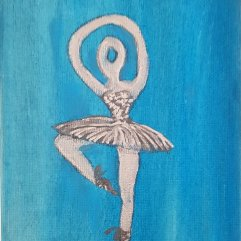1create - Silver Ballerina 3 by Sue Caulfield