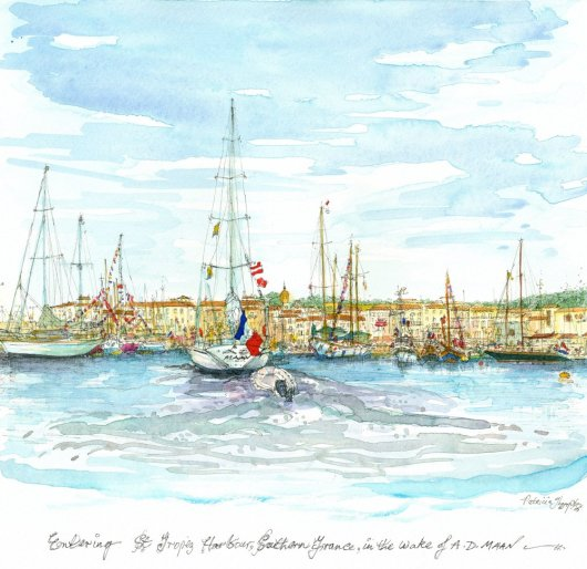 1create - 15 Entering St. Tropez by Patricia Thompson
