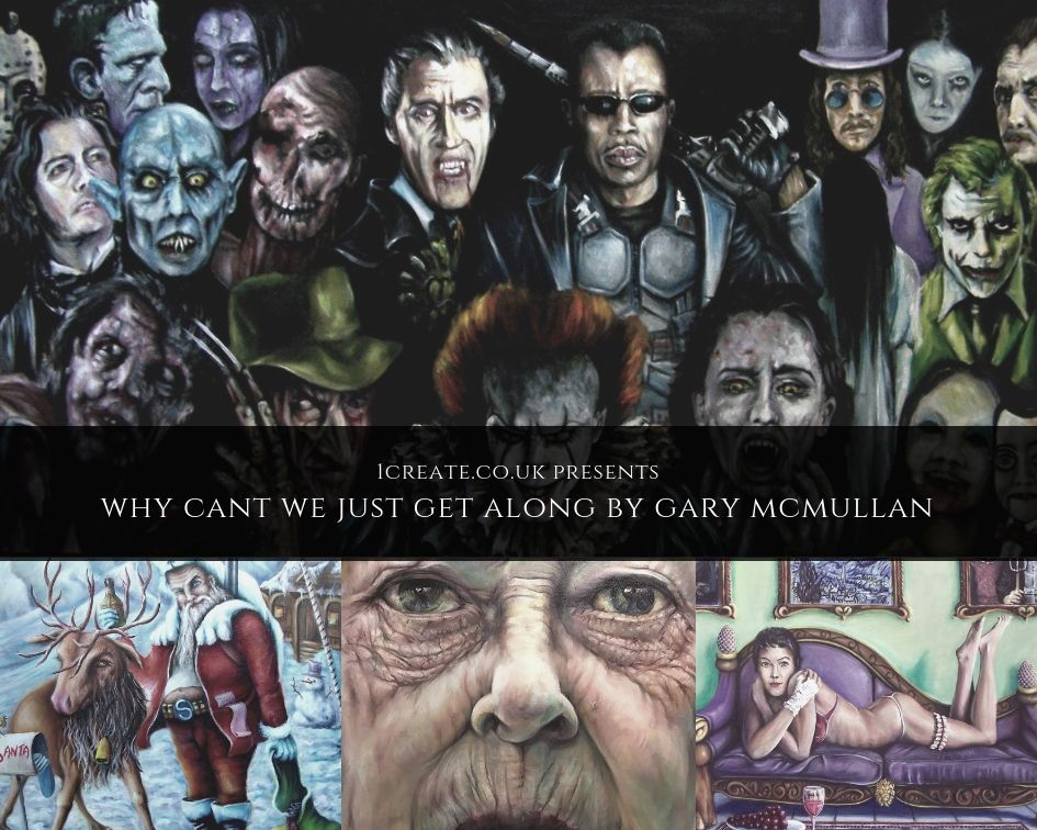 Gary McMullan Exhibition 2019