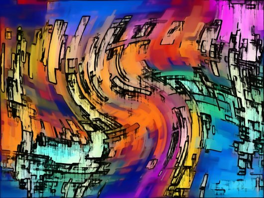 1create - Abstract 10 by Philippe Sechaud