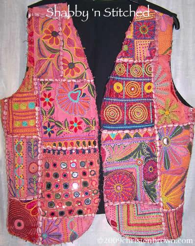 Shabby 'n Stitched Vest
