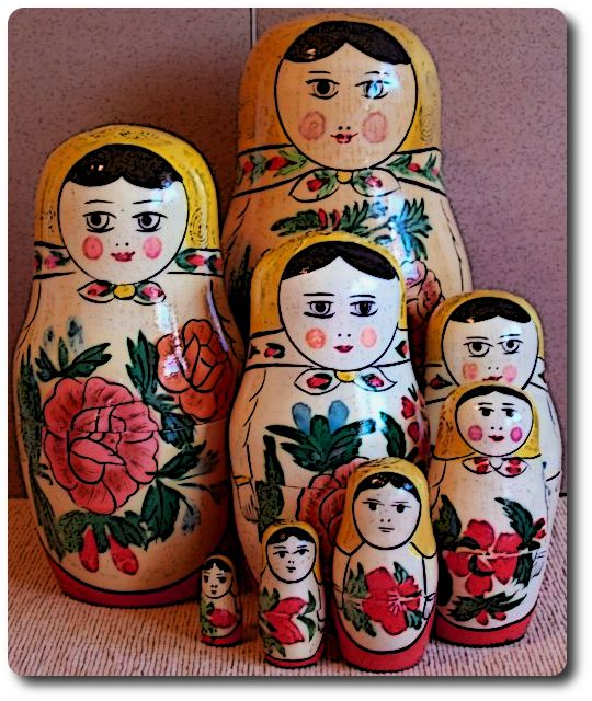 stacking dolls