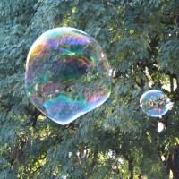 Burbujas mágicas...