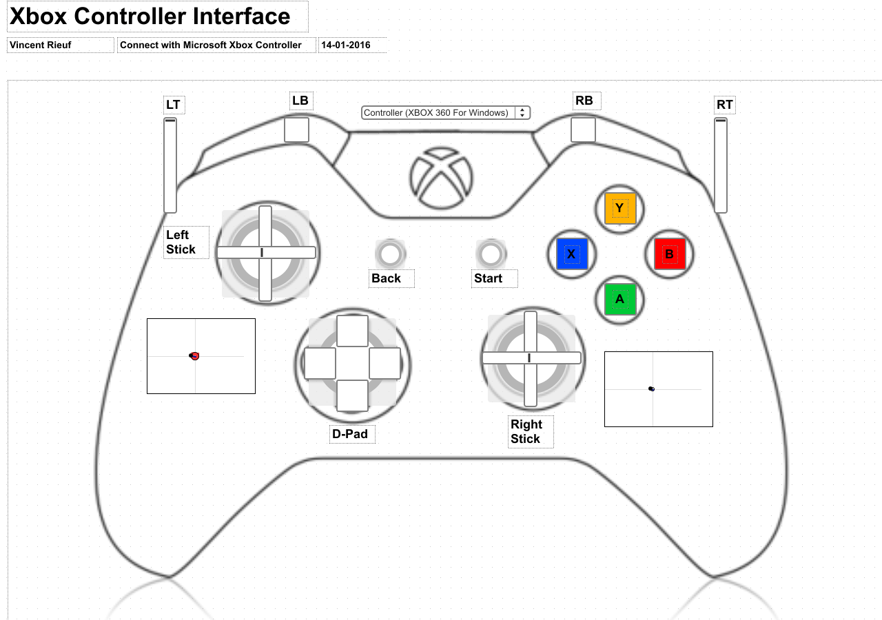 Xbox 360 Controller Design Coloring Pages