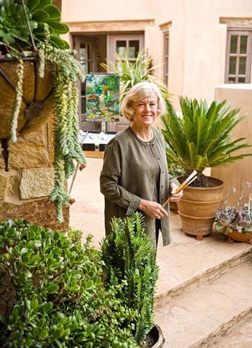 Художница - садовод