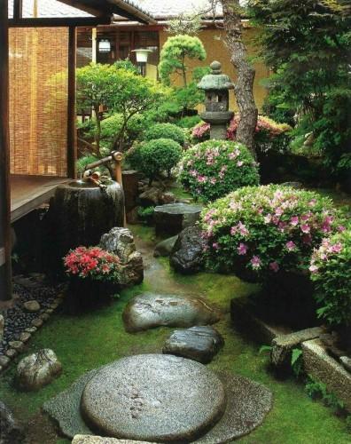 Маленький японский сад