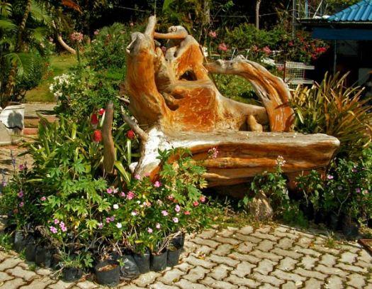 садовая мебель из дерева 1