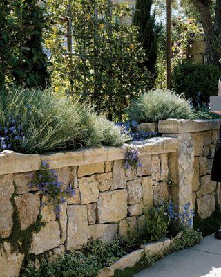 Каменный забор своими руками