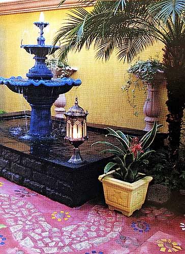 дизайн двора частного дома фото 1