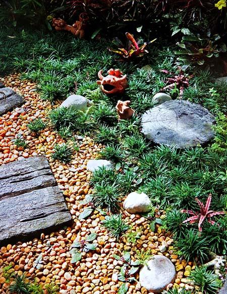дизайн садовых дорожек 2
