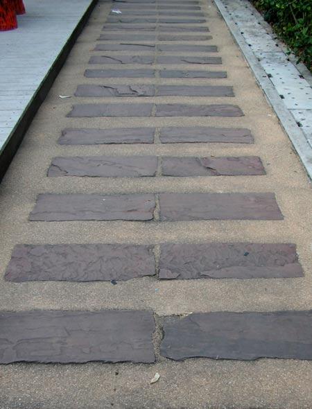 дорожки из плитки на даче