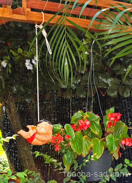 как украсить палисадник фото (2)