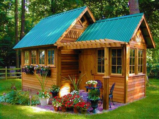 Дачный дом построенный своими руками