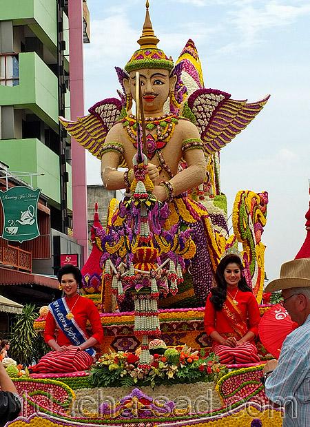 фестиваль цветов в таиланде (2)