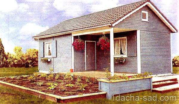 проект дачного дома с мансардой (10)