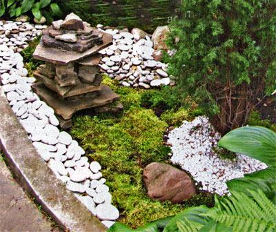 японский садик своими руками
