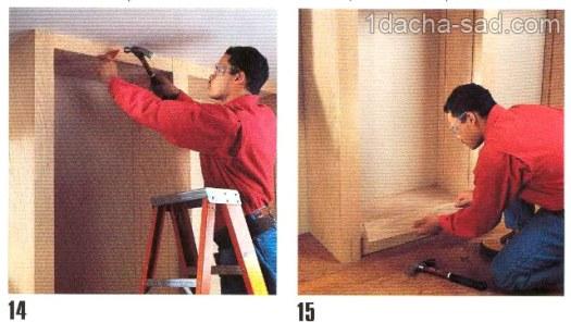 деревянные полки своими руками (3)