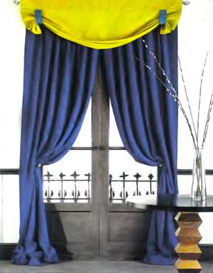 Как сшить шторы с ламбрекенами gl