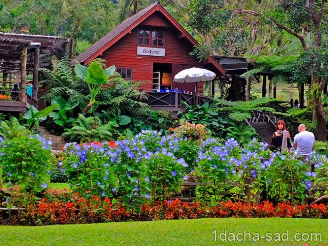 красивый сад Mae Fah Luang (20)
