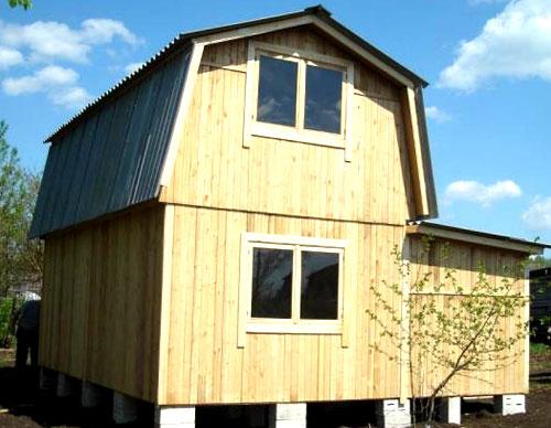 простенький дачный домик 3