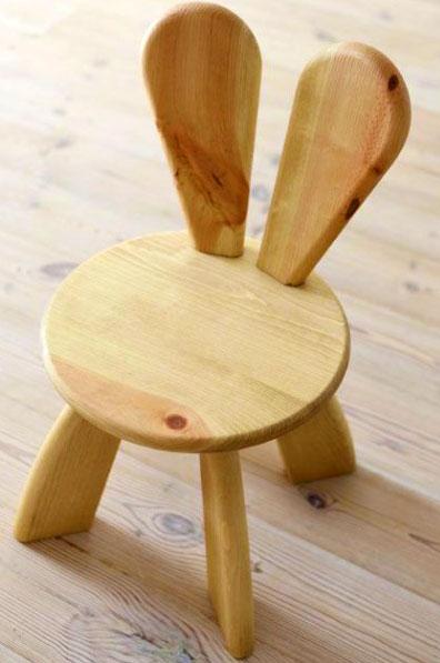 Детский стульчик зайчик