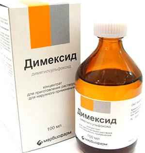 Димексид очистит кожу рук от суперклея