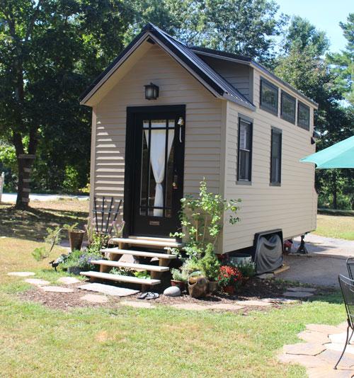маленький дачный домик 1