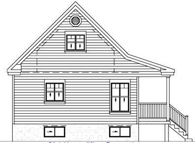 Очаровательный проект дома 11 на 7 с мансардой