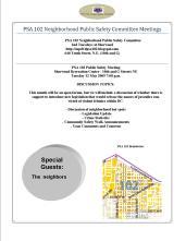 PSA 102 Flyer May Meeting 051209