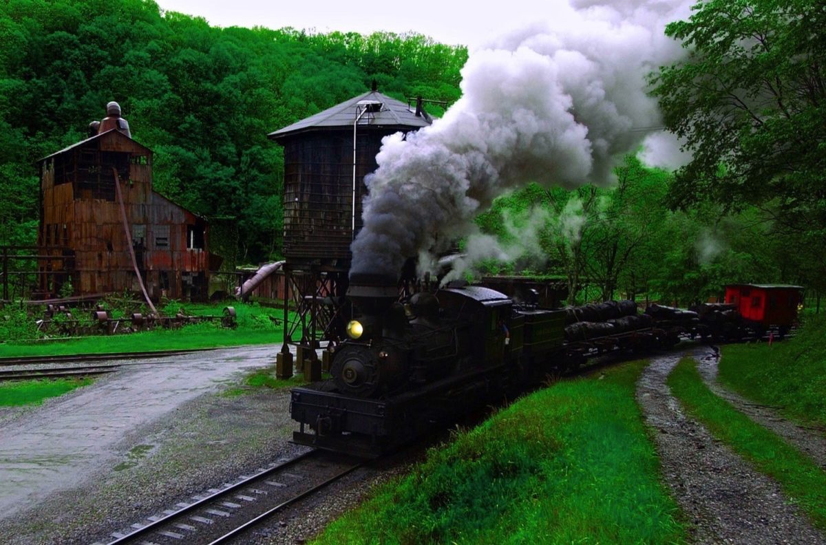 Cass Scenic Railroad State Park  West Virginia State