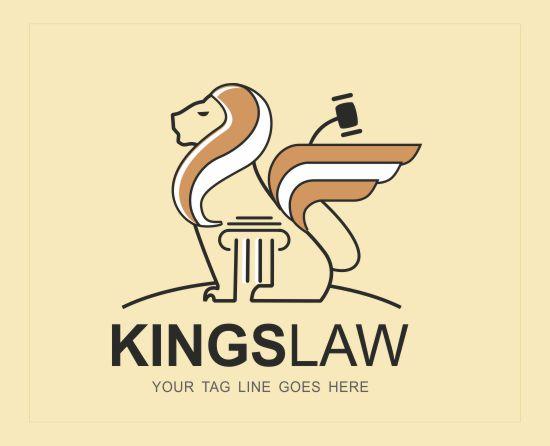 Kings Law Logo Slide