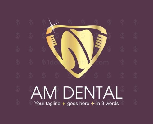 AM Dental Logo