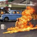 The Burning Monk