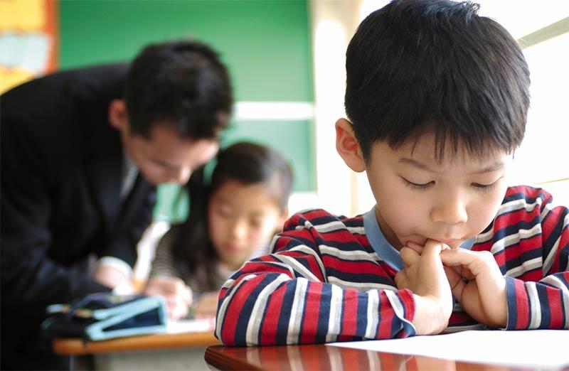 kid-in-class