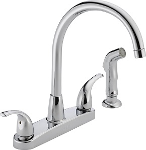 best inexpensive kitchen faucet curtains for the top shopping guide and reviews 2019 edition peerless p299578lf choice two handle