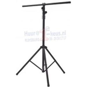 Driepootstatief met T-bar lichtbalk, inklapbaar, telescopeerbaar, verhuur