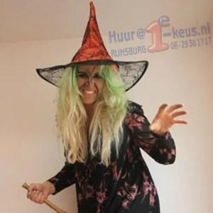 Een spannend heksen kinderfeest met volop erg leuk kindervermaak