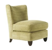 Barbara Barry Collection Upholstered Slipper Chair ...
