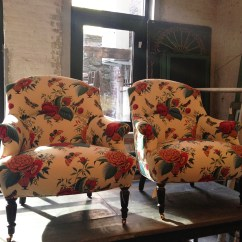 Fabric Outside Chairs Desk Argos Tissus Tartares For John Derian | Mcgrath Ii Blog