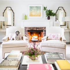 Paint Colors For Living Rooms With White Trim How To Arrange Furniture In Small Room Photos Best Mcgrath Ii Blog Glacier Ended Up Being The Perfect Compliment All Of Neutral Upholstery And Grey Washed Swedish Demilunes