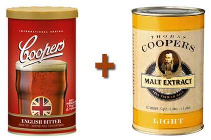The malt extract that makes up this brew