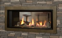 Valor L1 2 Sided Gas Fireplace