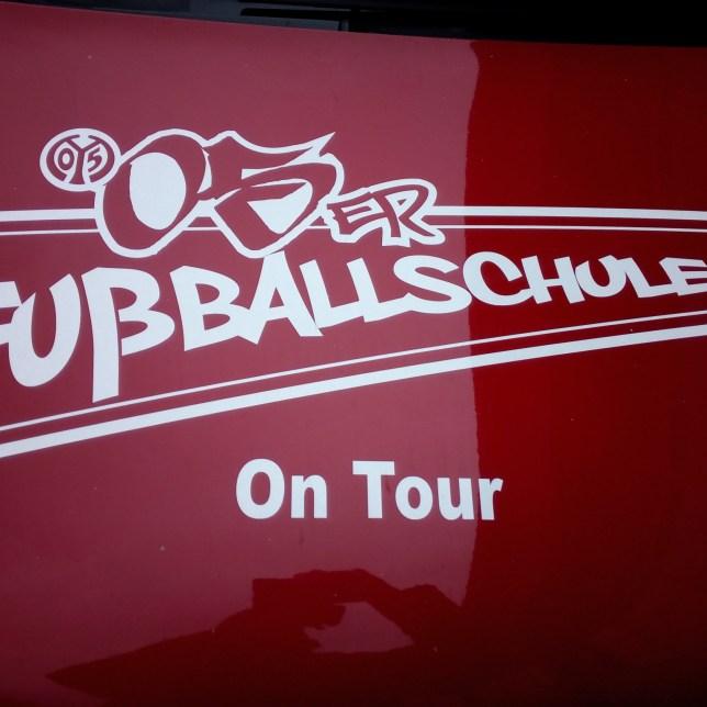 Die 05er-Fußballschule zu Gast beim 1. FC Nackenheim