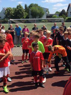 Einen hervorragenden vierten Platz erzielten unsere E1-Junioren in Bodenheim.