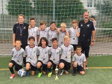 Turniersieg Nummer zwei ohne Gegentor beim VfL Frei-Weinheim.