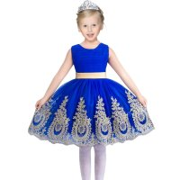 Royal Blue Toddler Dress  fashion dresses